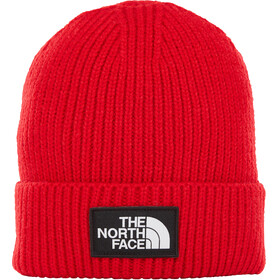 The North Face TNF Logo Box Cuff Beanie TNF Red